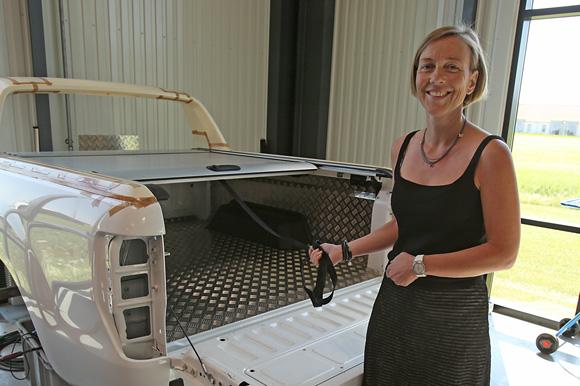 Administrerende direktør i Mountain Top Industries, Marie-Lousie Bjerg, har stor succes med projekt Stram Kæden