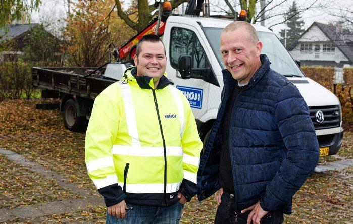 Michael Mikkelsen fik sin LPS installeret af Clayton Power konsulent Henrik Koch