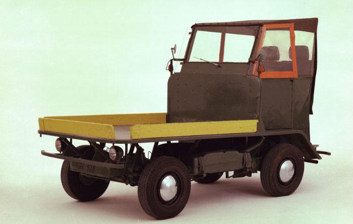 VW-køretøj til intern transport