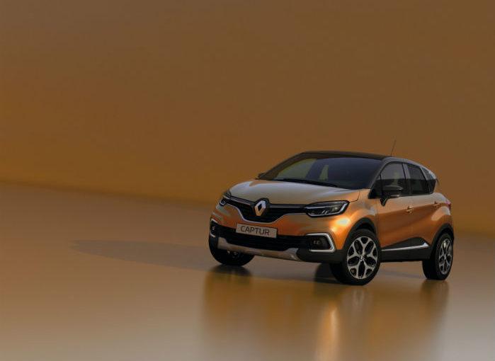 Renault Captur præsenteres i faceliftet version i Geneve.