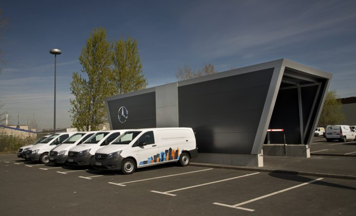 Last mile-distribution. Logistics Partner Programme, Mercedes-Benz Vans