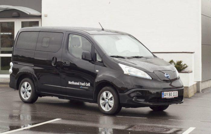 SerEnergy's brændselscelle-varebil, der er baseret på en Nissan e-NV200
